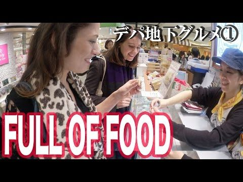①The basement of department stores in Japan is like a treasure house 日本のデパートの地下は食の宝庫 - YouTube