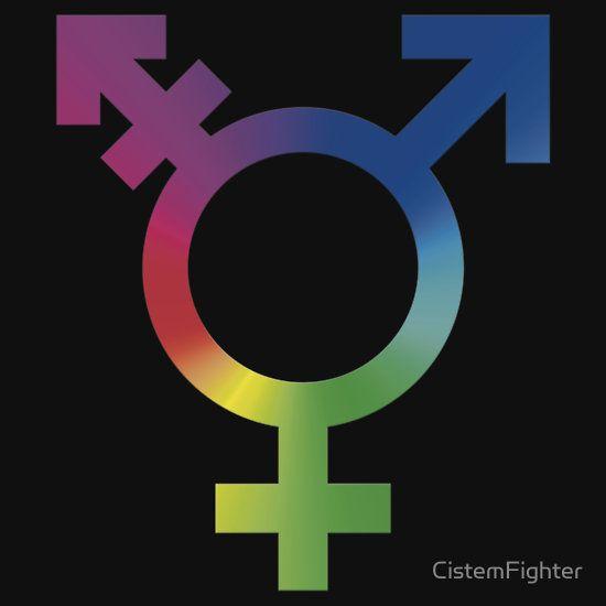 Rainbow Trans Symbol