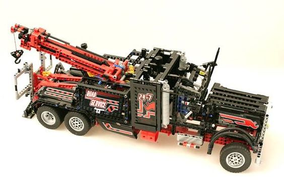 LEGO Technic 8285 TOW TRUCK SOLD   www.cyan74.com - vintage & pop culture