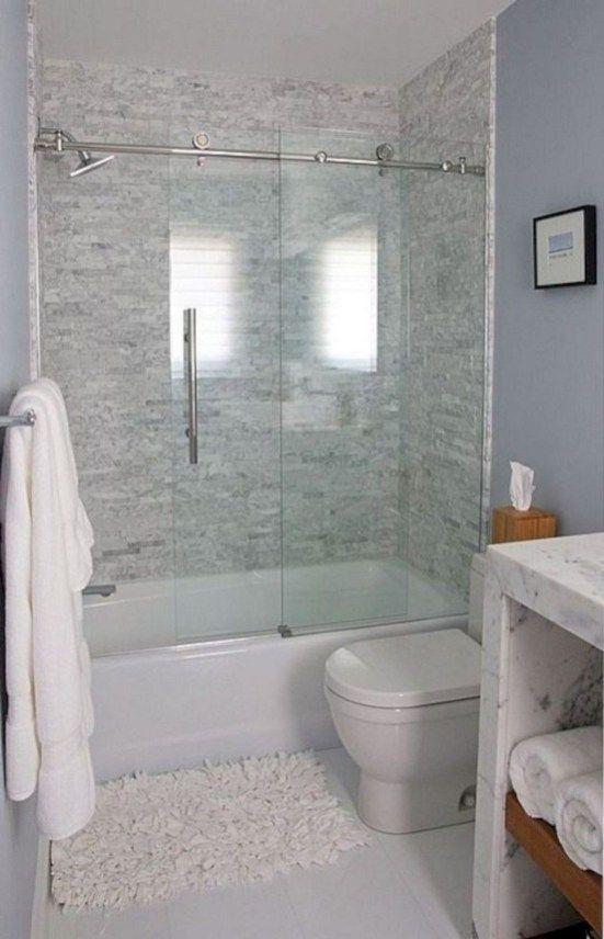 46 Popular Small Bathroom Remodel Ideas Pimphomee Small Bathroom Remodel Bathtub Remodel Small Bathroom