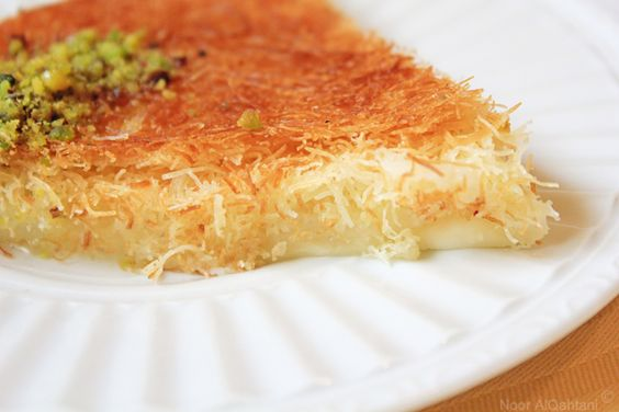 Cheese Kunafa - Wonder if I can find all the ingredients to make in Canada?