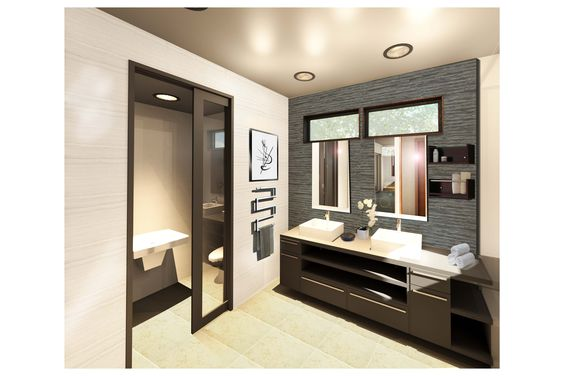 Bathroom rendering for our latest project!