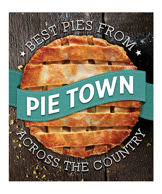 This Pie Town Cookbook by Publications International is perfect! #zulilyfinds