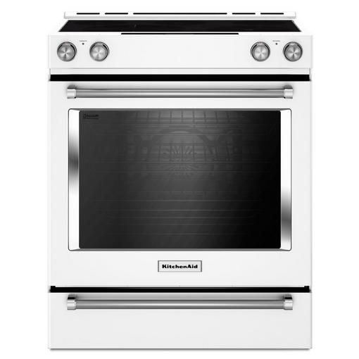 Buy 7.1 cu.Ft. Front Control True Convection Electric Range, Baking Drawer- White Online & Reviews: