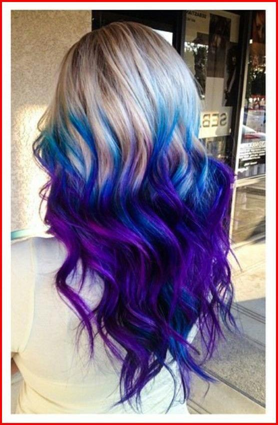 Idee Di Colore Peloso Viola Blu Il Mix Di Colori Funziona Sempre Per Rendere Il Tuo Aspetto Affascin Nel 2020 Capelli Colorati Capelli Scuri Acconciature Capelli Lunghi