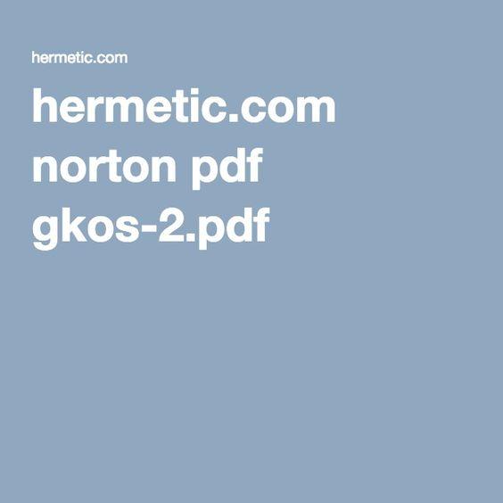 Hermetic Com Norton Pdf Gkos 2 Pdf Norton Pdf Ios Messenger