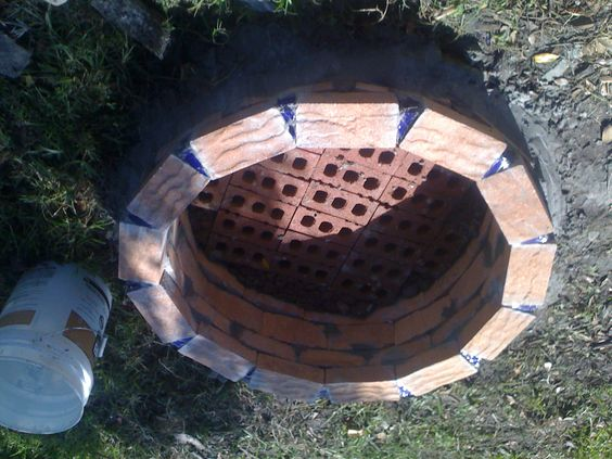 Fire Brick Mortar : How to build a brick fire pit without mortar pits