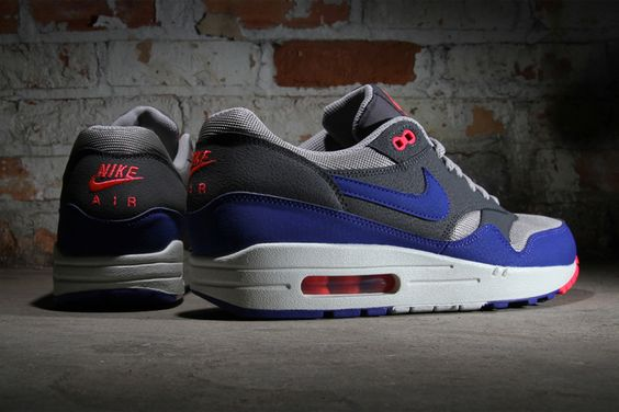 Nike Air Max 1 Essential - Ultra Marine & Medium Grey | NikeAirMax1.com