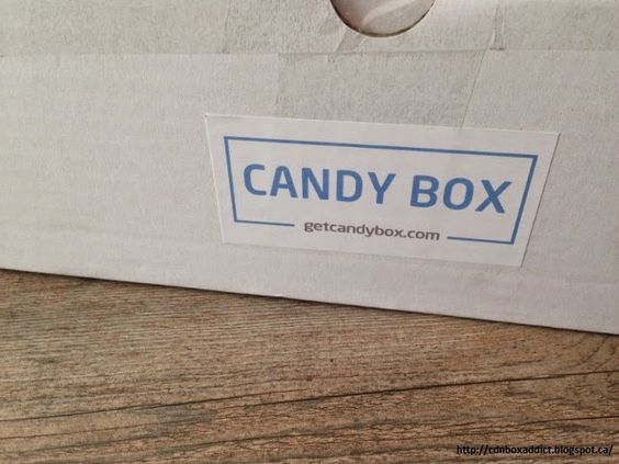 Canadian Subscription Box Addict: Candy Box Review - April 2015 - Canadian Candy Subscription Box + PROMO CODE