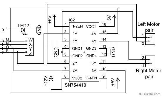 How To Build A Remote Control Car Remote Control Cars Electronic Schematics Circuit