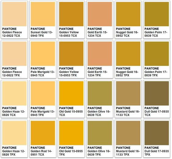 pantone gold - Pesquisa Google  COLOR  Pinterest  Pantone color, Colors and Color boards
