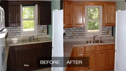 21 Kitchen Cabinet Refacing Ideas Options To Refinish Cabinets Diy Design Doors Refacing Kitchen Cabinets Kitchen Refurbishment Cost Of Kitchen Cabinets