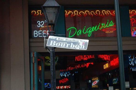 Rue Bourbon!