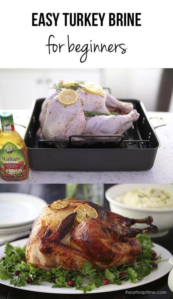 Brine turkey recipes easy
