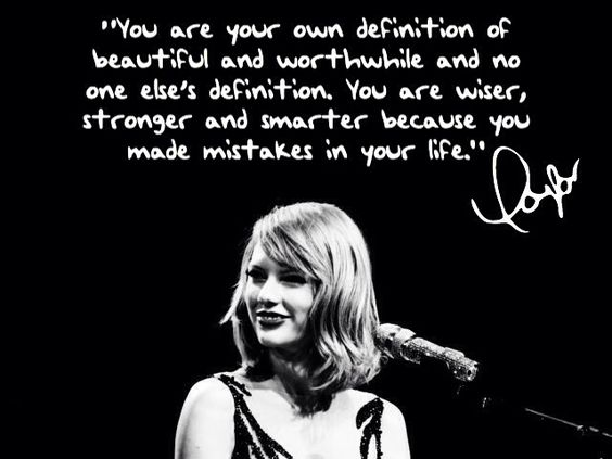 Taylor Swift quote: