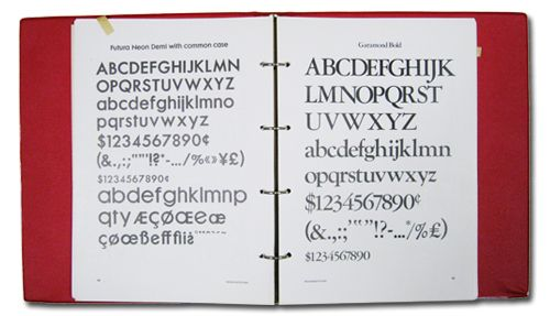 MONSEN TYPOGRAPHIC STANDARDS BOOK : 中津川デザイン事務所