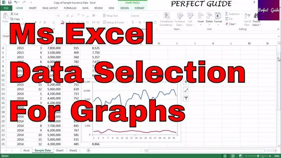 MsExcel Charts and Graphs Ms Excel Tutorial for Insurance