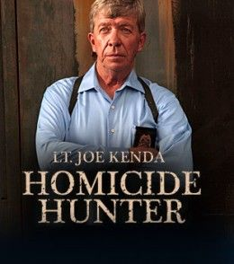 Homicide Hunter on the I.D. Discovery Channel. A true crime show. Wasn't sure where to put this one--reality or scripted show (because of the reenactments).