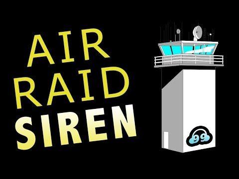 Air Raid Siren Sound Effect (NON COPYRIGHTED) - YouTube
