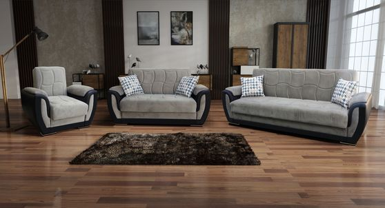 Julian Black Sofa 620 Meridian Furniture Fabric Sofas In 2021 Leather Armchair Living Room Bed Frame And Headboard Fabric Sofa