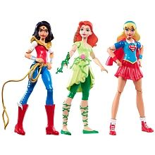 DC Super Hero Girls - Pack 3 Figuras