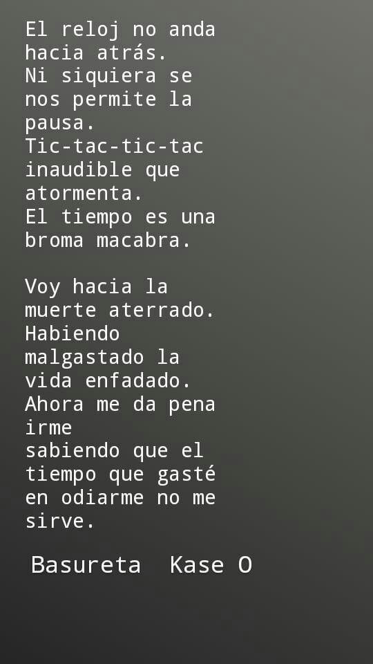 Basureta Kase O Kaseo Basureta Rap Español Frases Frases De Canciones Rap Frases De Rap Frases De La Calle