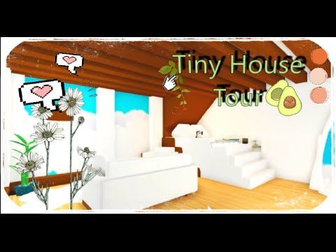 Speed Building Tiny House Adopt Me Roblox Youtube In 2020 Cute Room Ideas Tiny House Roblox