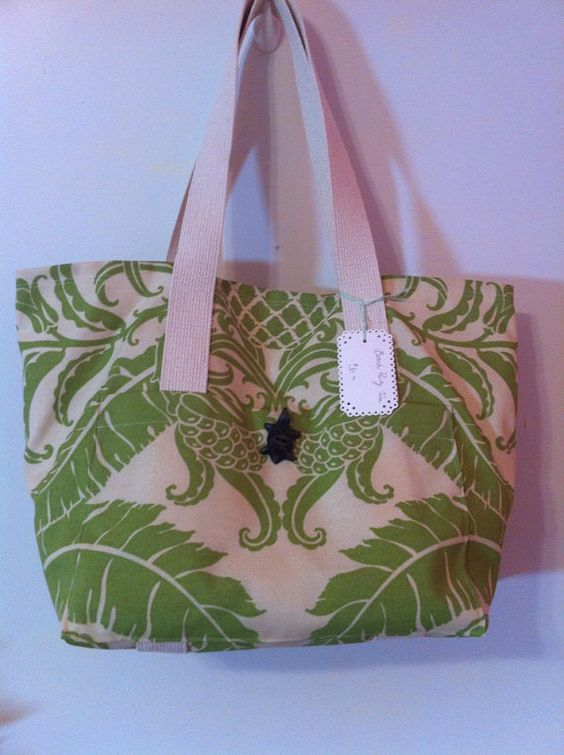 Beach Party Tote on Etsy, $30.00