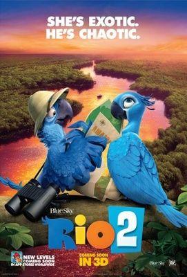 Rio 2 2014 Poster In 2020 Rio 2 Film Rio Rio Movie