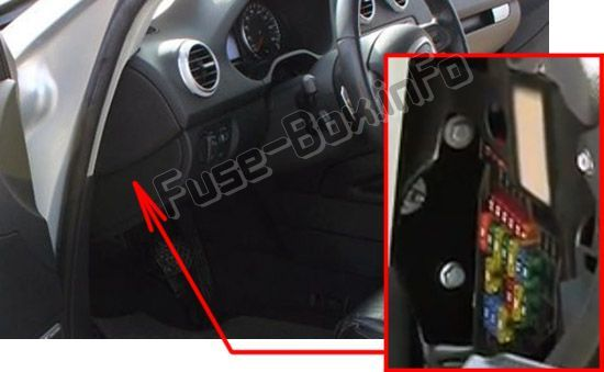 Audi A3 / S3 (8P; 2008, 2009, 2010, 2011, 2012) Fuse box location | Engine  control unit, Windshield washer, Fuse boxPinterest