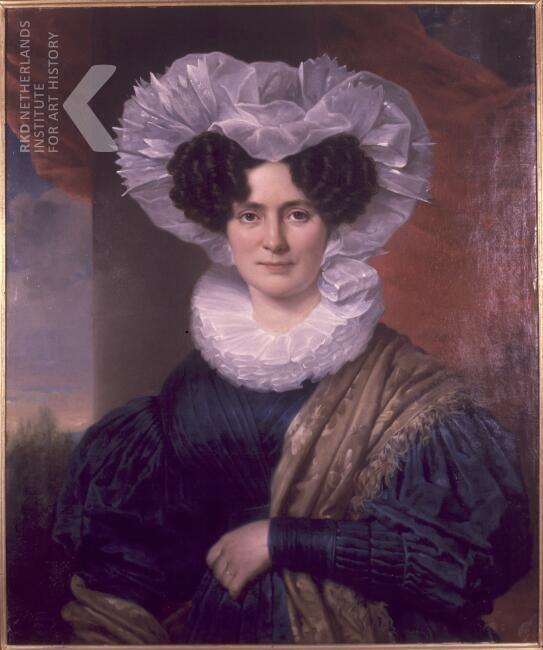 Jan Adam Kruseman Portret van Petronella Philippa van Idsinga (1810-1834), 1831 gedateerd