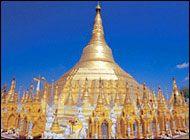 Shwedagon Paya (Pagoda), Yangon  Travel @ Myanmar.com