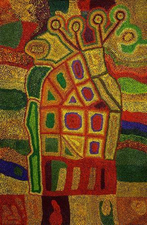 Yaritji Young - 'Ngayuku ngura'   Aboriginal Art   Outstation