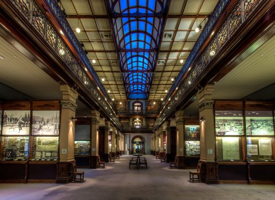 Mortlock wing of the State library, South Australia by David Fielding on 500px