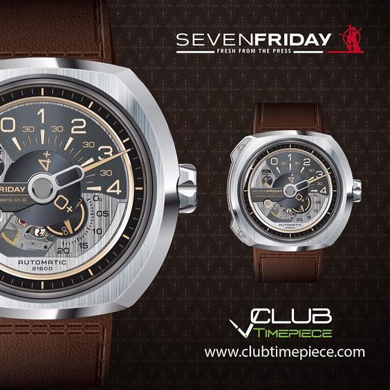 The new Sevenfriday V1!! Find it soon at our website for only $1450 and get a FREE strap!! by club_timepiece