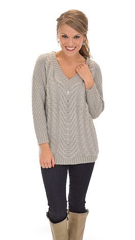 The cozy sweater we've all been craving! $59 at shopbluedoor.com