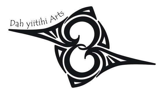 The Dah yi'itihi Arts logo was developed from the Navajo symbol for hummingbird that is painted on their pottery.  Dah yi'itihi means 'hummingbird' in Navajo.