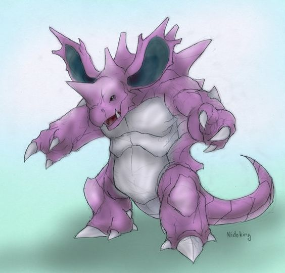 Nidoking by RtRadke on DeviantArt