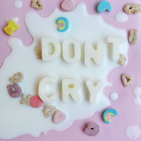Don't Cry Over Spilled Milk type experiment By Lizzie Darden