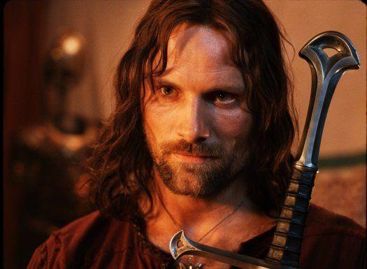 Viggo Mortensen - Strider in Lord of the Rings