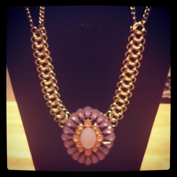 Gold purple & Orange $20