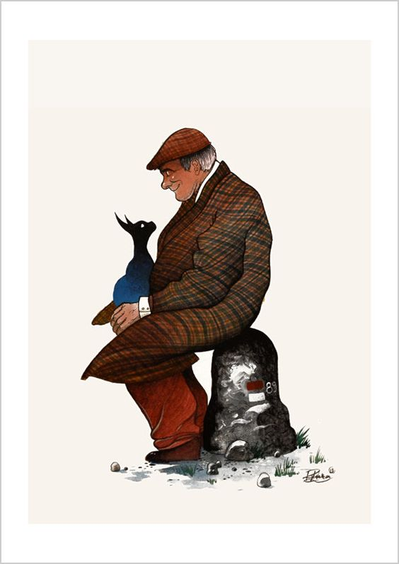 The old man and the cat  |   By Raphael Vavasseur