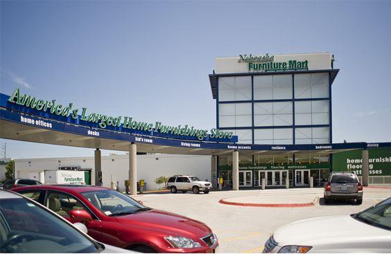 Awesome Nebraska Furniture Mart ~ Omaha NE ~ The Largest Home Furnishings Store In  North America | Omaha, Ne | Pinterest