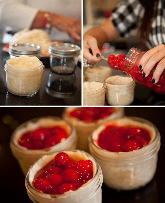 Pie in a Jar - I'm doing this for the holidays
