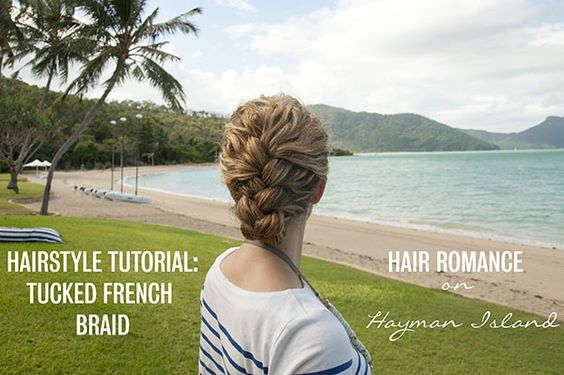 New Video Tutorial: Tucked French Braid Updo in Curly Hair