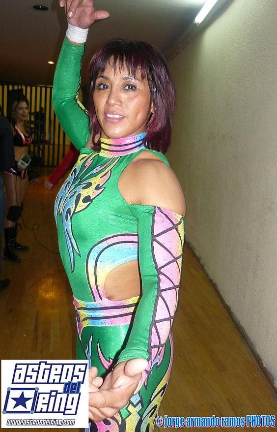 Mexican Female Wrestler Marcela