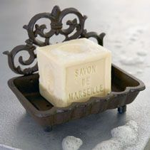 Traditional French soap dish