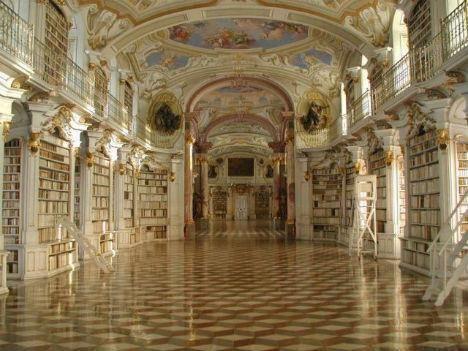 Bibliotèque du Monastàre Beneditino de Admont, Autriche