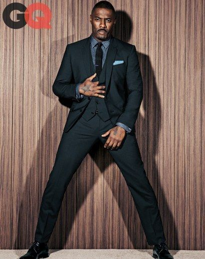 How to Transform a Three-Piece into a Triple Threat, Starring Idris Elba Photos | GQ