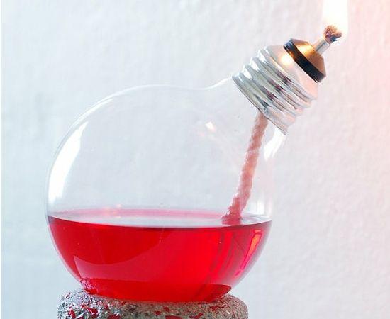 Adorei essa lâmpada vela :-), cada coisa inspiradora...
